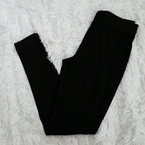 Vince Camuto Black Legging